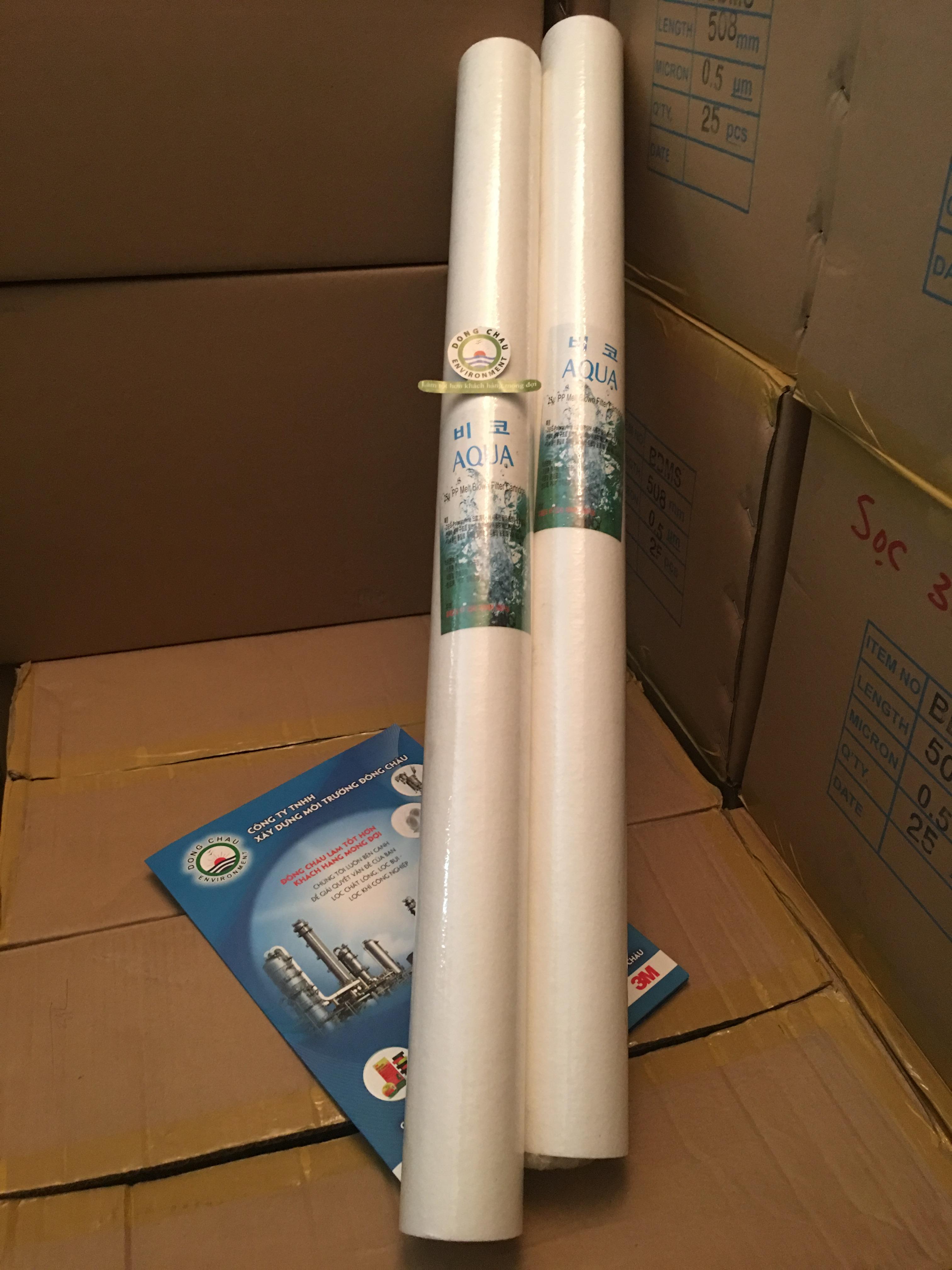 Lõi lọc nén Aqua 25 micron 30 inch
