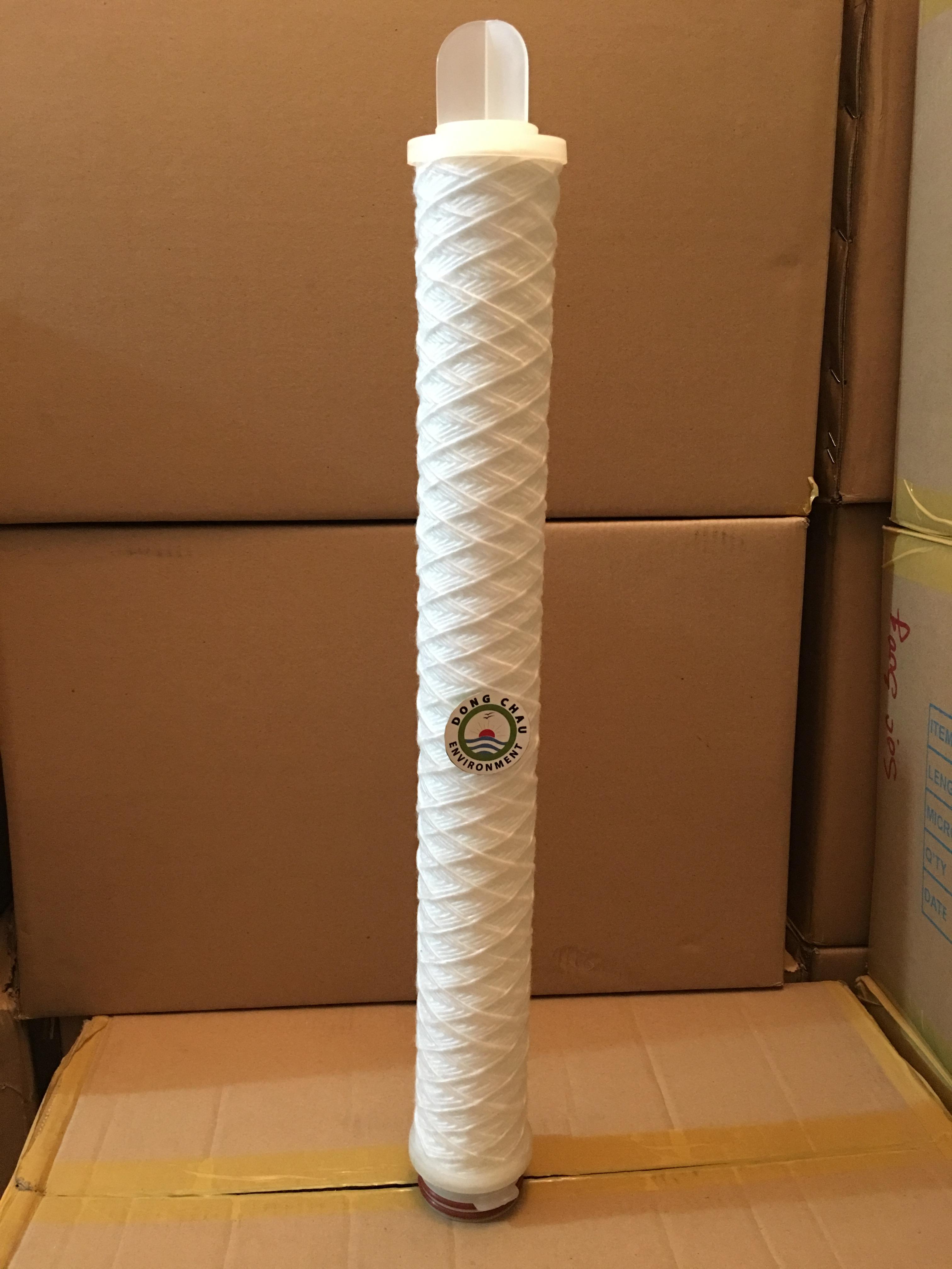 Lõi lọc sợi  5 micron 20 inch o ring 226