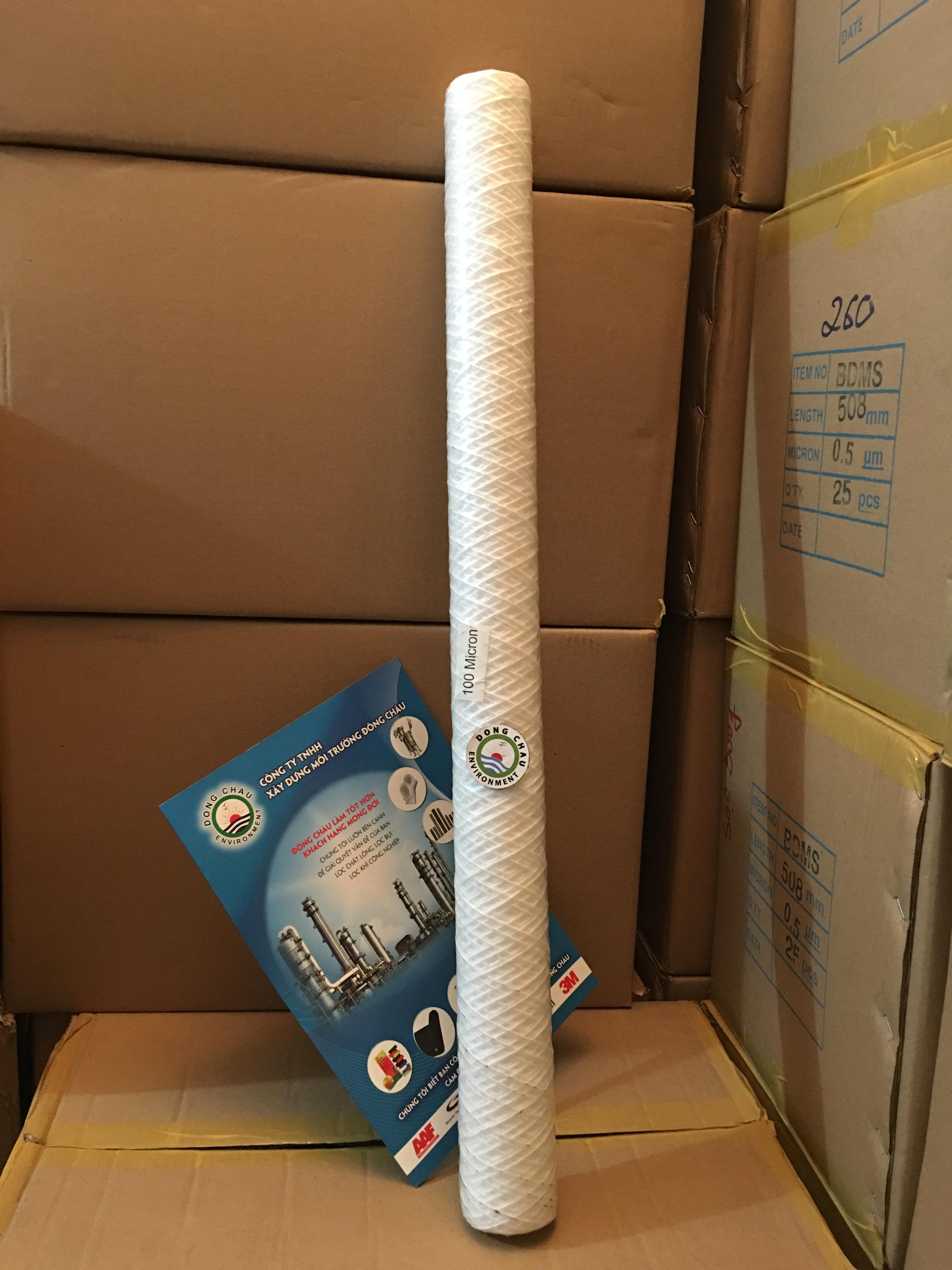 Lõi lọc sợi Aqua 100 micron 30 inch