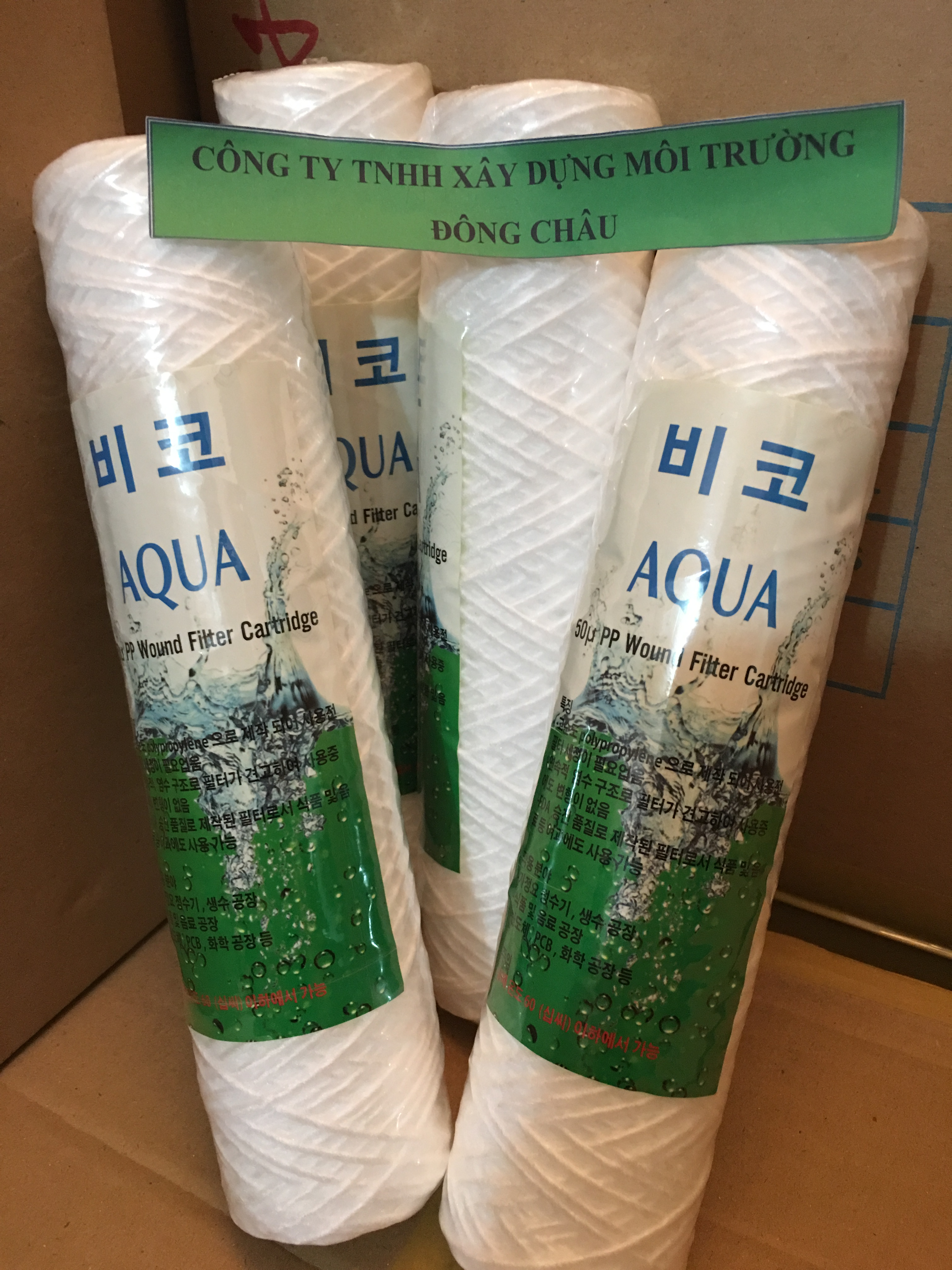 Lõi lọc sợi Aqua 50 micron 10 inch
