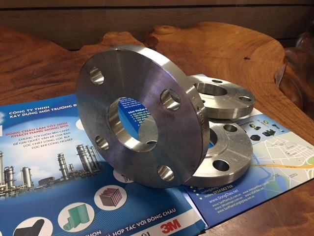 Mặt bích inox 304 DN50 dùng kết nối bình lọc túi size 1 và size 2