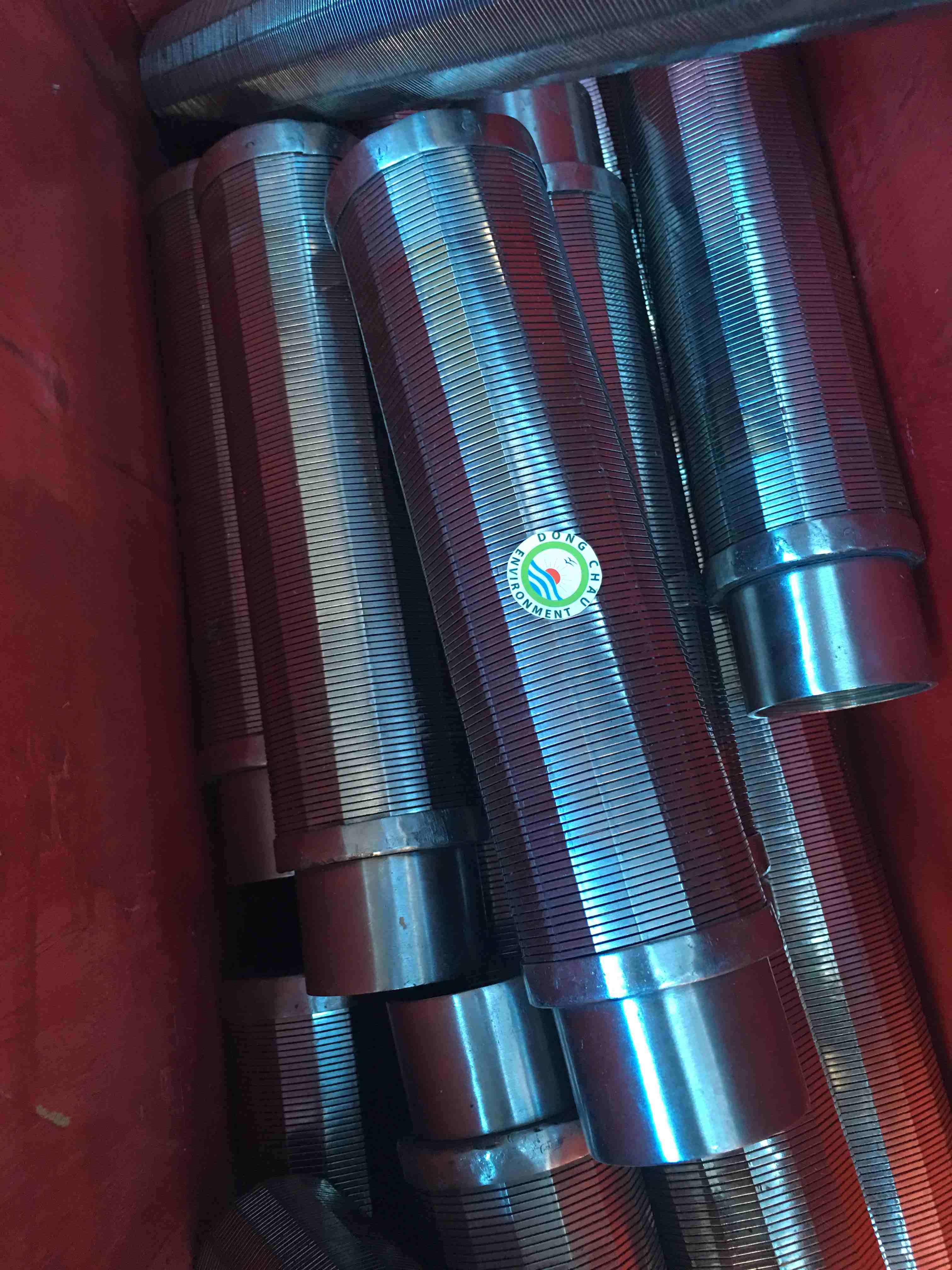 Ống lọc khe 0.1mm, một đầu kín, một đầu ren trong