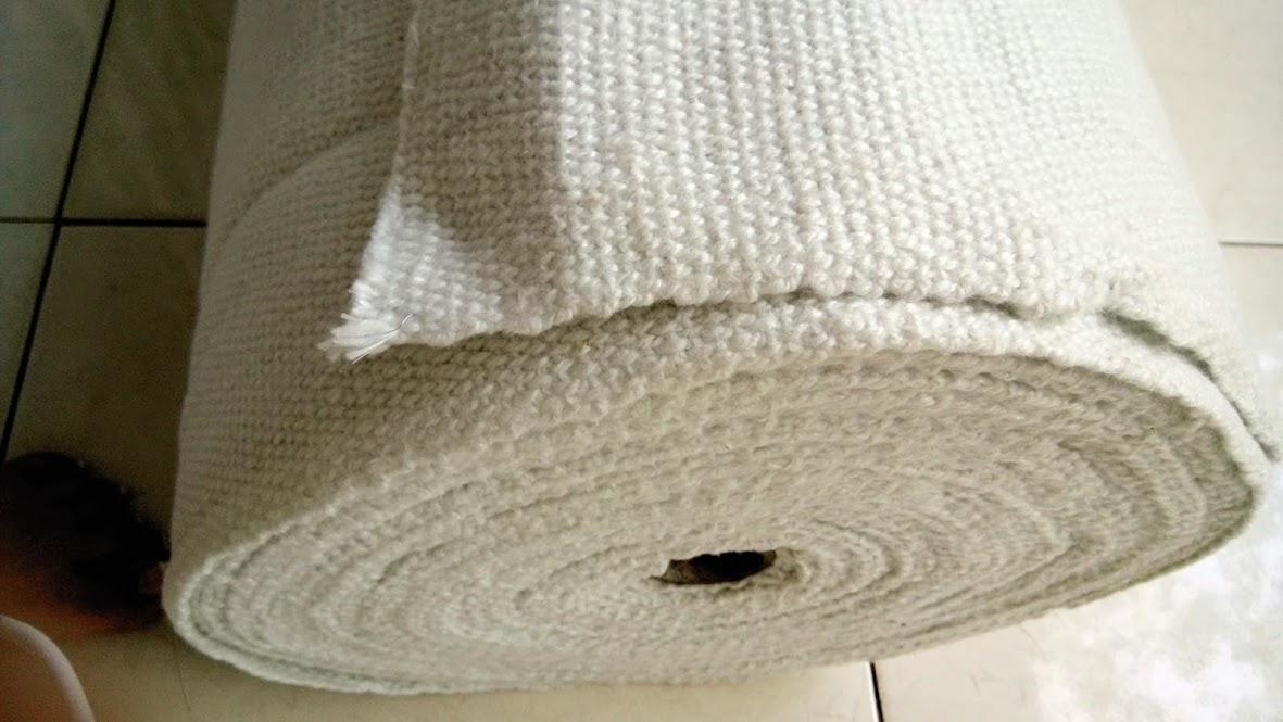 Vải Ceramic gốm lưới thép chống cháy chịu nhiệt độ cao