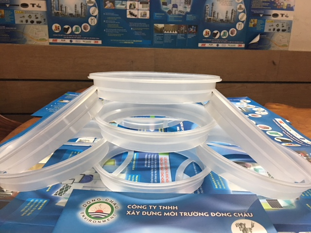 Vòng nhựa để ép nhiệt, may túi lọc size 1, size 2