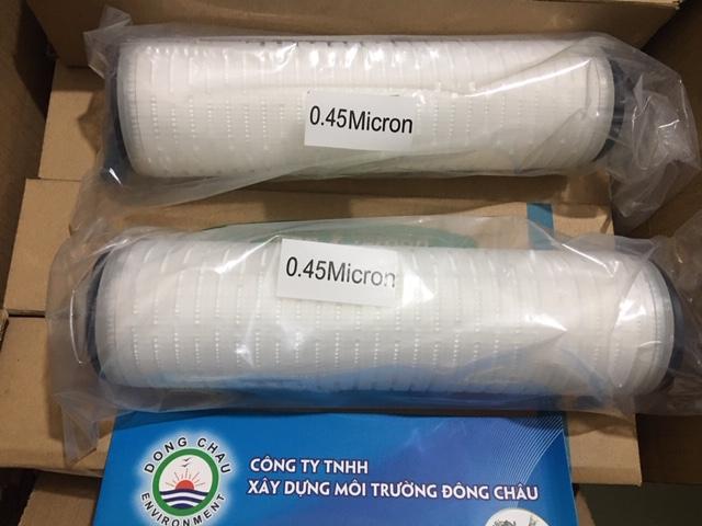 MP - 0.45 micron - 10 inch DOE, Lõi giấy xếp Clean Green Hàn Quốc