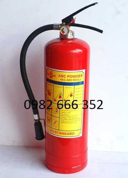 Bình chữa cháy bột abc 4kg 8kg