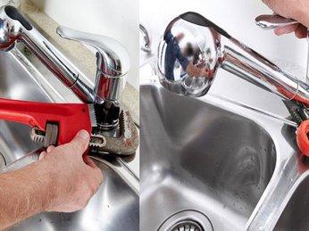 Cách sửa vòi nước rửa chén lavabo bị rò rỉ nước