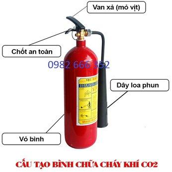 Bình cứu hỏa CO2 MT2 MT5