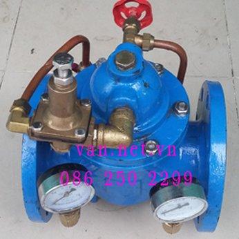 Van giảm áp nước mặt bích DN100 - Phi114