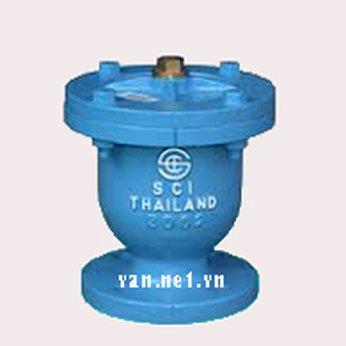 Van xả khí mặt bích SCI Thái Lan DN50