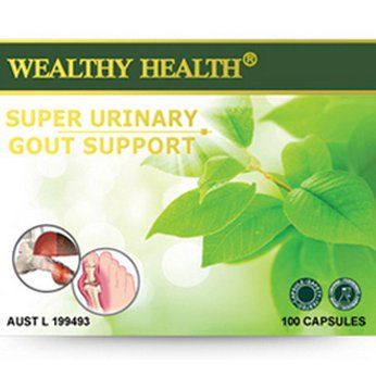 Viên hỗ trợ trị gout Wealthy Health Super Urinary Gout Support