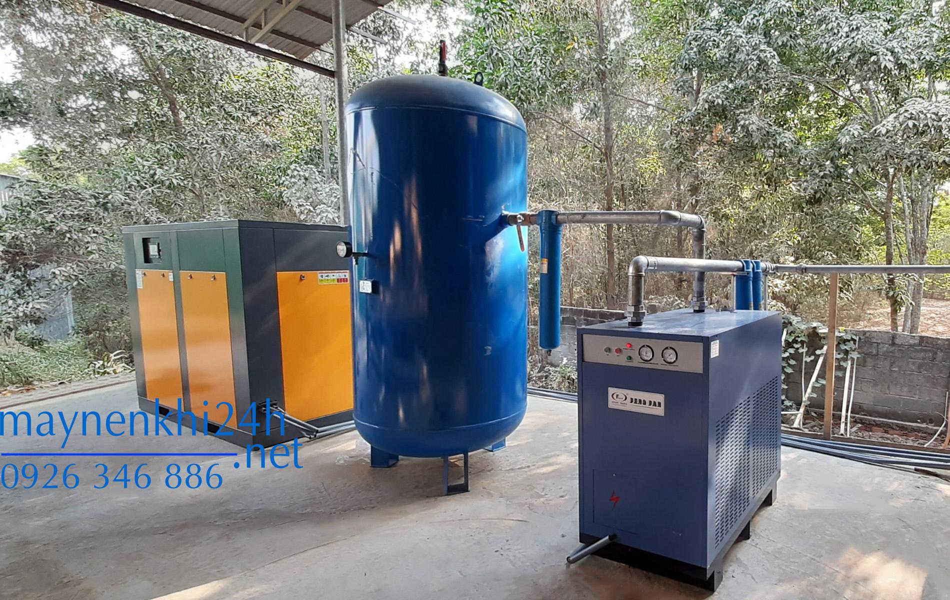 Máy Nén Khí Biến Tần Vĩnh Từ 150HP (110kW)