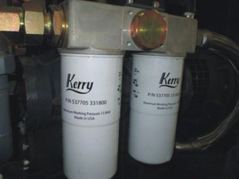 Cách nhận biết máy nén khí bị tắc nghẽn dầu khí ?