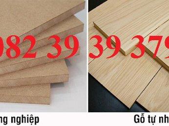 So sánh gỗ công nghiệp và gỗ tự nhiên
