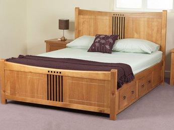Giường ngủ từ ván ép
