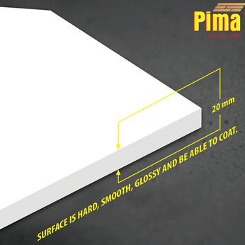 TẤM VÁN NHỰA PIMA 20mm