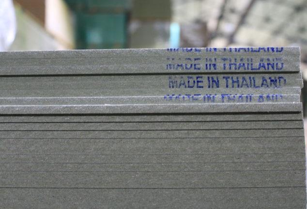 Ván MDF chống ẩm Thái Lan hàng chất lượng được nhiều người tin dùng.