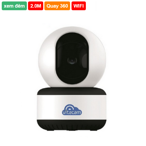 Camera IP Wifi Vitacam C1080 2.0Megapixel