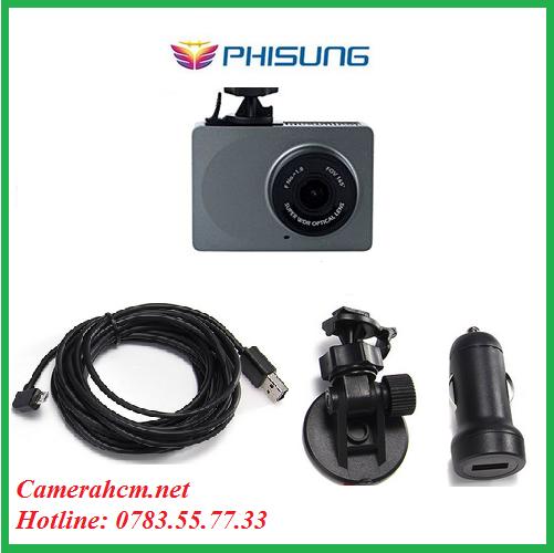 Camera hành trình thông minh WIFI FULL HD YI DASH CAM