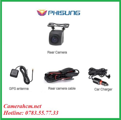 Camera Phisung G05 - IPS màn hình cảm ứng 9,35 dash máy ảnh ADAS dual cam HD1080P  GPS