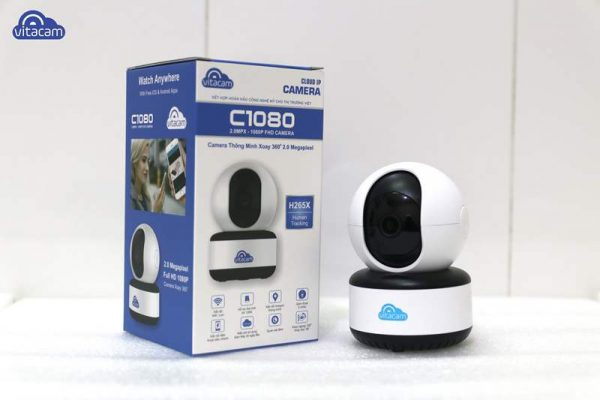 Camera IP Wifi Vitacam C1080 2.0Megapixel