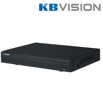 Đầu ghi hình Kbvision KX-4K8104H1 4 kênh HD 8MP + 2 kênh IP, 1 Sata, Audio, truyền tải âm thanh báo động