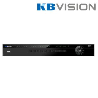 Đầu ghi IP Kbvision KX-4K8216N2 16 kênh HD 8MP, 2 SATA, HDMI/VGA,Onvif