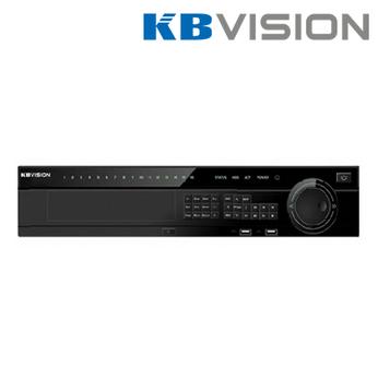 Đầu ghi hình IP Kbvision KX-4K8816N2 16 kênh, 8 sata, 1 eSata, Push Video, Free DDNS