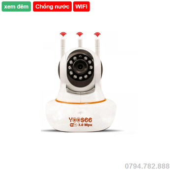 Camera wifi Yoosee hd 3 râu 3.0 megapixel