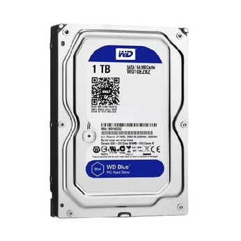 Ổ cứng HDD WD Blue 3.5 1TB 7200RPM SATA 3 6Gb/s 64MB Cache