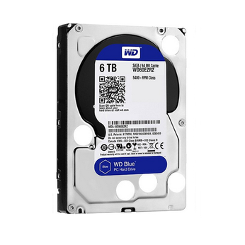 Ổ Cứng HDD WD Blue™ 6TB/64MB/5400rpm/3.5 - WD60EZRZ