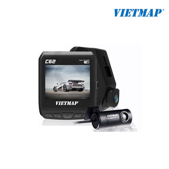 Camera hành trình ô tô Vietmap C62 Ghi hình Ultra HD 2K