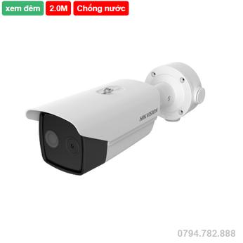 Camera IP đo thân nhiệt HIKVISION DS-2TD2617B-6/PA(B)