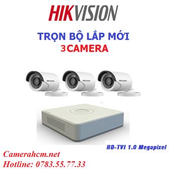Lắp đặt trọn bộ 3 camera quan sát Hikvision 2.0mp (2)