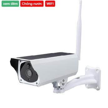 Camera Wifi dùng pin năng lượng mặt trời MPS-031 1.3 Mpx