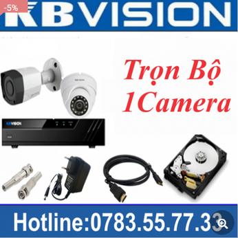 Trọn Bộ 01 Camera Kbvision 2.0MP