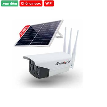 Camera AI Solar Wifi 5MP kết nối mạng 4G Vantech AI-V2034D