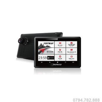 Camera hành trình W810 vừa dẫn đường vừa ghi hình Full HD 1080P
