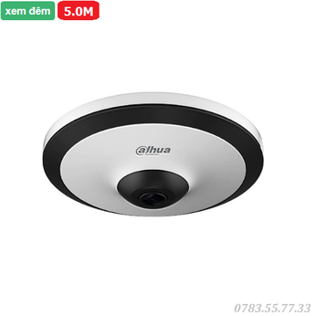 Camera IP Fisheye hồng ngoại 5.0 Megapixel DAHUA DH-IPC-EW5531P-AS