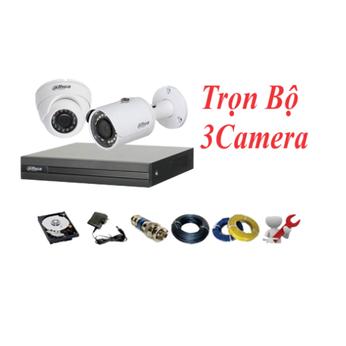 Trọn Bộ 03 Camera Dahua 2.0MP