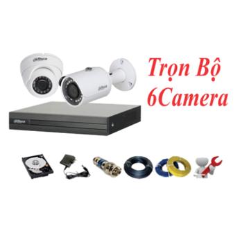 Trọn Bộ 06 Camera Dahua 2.0MP
