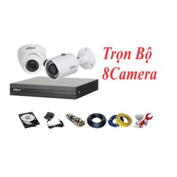 Trọn Bộ 08 Camera Dahua 2.0MP