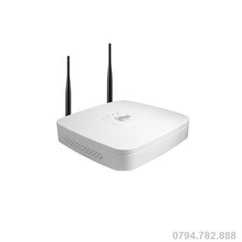 Đầu ghi hình Dahua NVR4104-W 4 kênh HD 2MP, 1 Sata, Audio 1/1, tích hợp Wifi.