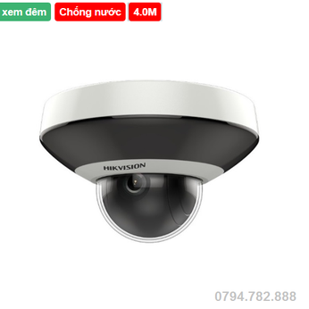Camera quan sát IP HIKVISION DS-2DE2A404IW-DE3 (Dòng camera speed dome)