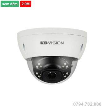 Camera IP kbvision KX-2007PN 2.0 Megapixel, Zoom 12X, Alarm, Micro SD, PoE,