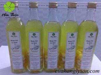 Cách uống và công dụng của rượu tỏi cô đơn Lý Sơn