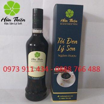 Rượu tỏi đen Hữu Thiện