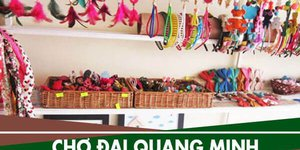 Địa chỉ cung cấp phụ liệu may mặc Chợ Đại Quang Minh