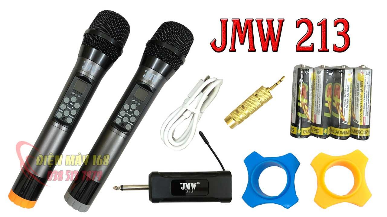 Micro jmw 213 loa kéo không dây