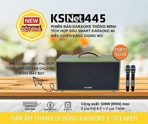 Loa xách tay acnos cs445 chính hãng hát karaoke hay nhất hiện nay